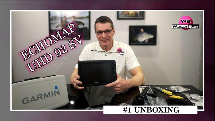 Echomap UHD 92 SV – Unboxing #1